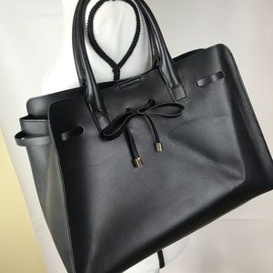 Just FAB Glenn Black Tote